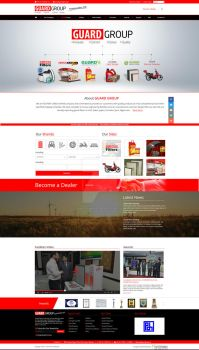 Groups of company website design by fahadaman91