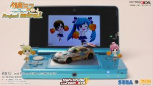 Hatsune Miku and the Future Stars Project mirai 3D by shanaxtaiga