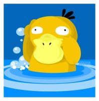 psyduck by Child-Of-Neglect