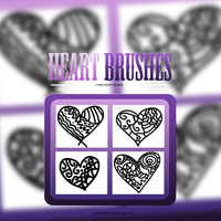 +Heart Brushes by MyOnLyHeart