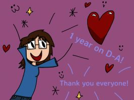 1 year on d-A! by St1rl4