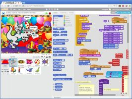 Terezo joins Scratch.mit for the first time onlane by tentabrobpy