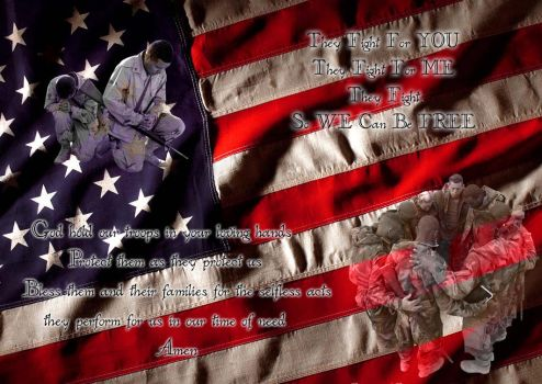 For Our Troops by Baby-Starr