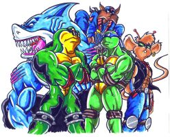 the old mutant cartoons by trunks24