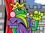 Frog King by Kylesauer
