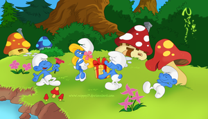 The World of Smurfs by Nippy13