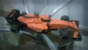 Dodge F1 2014 papercraft project by aalexwerner