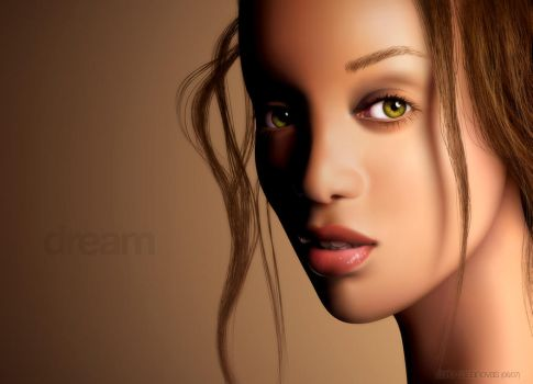 Tyra - dream - Vector 1 by darioart