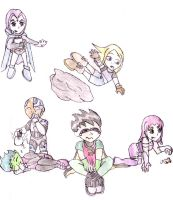 Baby titans photo shoot 2 by liliflower4