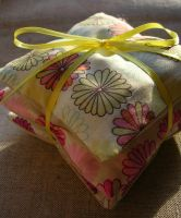 Set of 3 Lavender Sachets by MasonBee