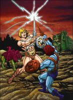 He-Man Versus Faker by Innershade