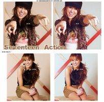 Seventeen Action + by ObsessionCelebrities