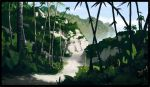 Mata Nui sights - Coastal Woodlands by IRON6DUCK