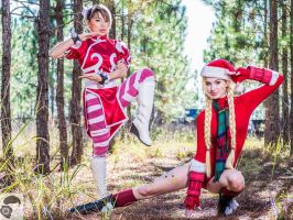 Festive Fighters by MeganCoffey