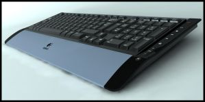 Logitech Keyboard by Tom-3D
