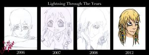 Lightning Through the Years by LightningMcTurner