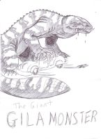 The Giant Gila Monster Draft by RichardVale