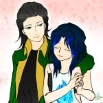 Request- Loki and Blue Flame by Yuuram93