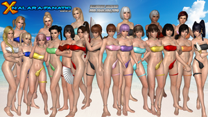 Illusion Swimsuits for XNALara/XPS by XNALara-Fanatic