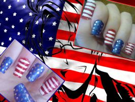 American Nails by uutopicaa
