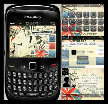 blackberry theme by mylifeonpaper