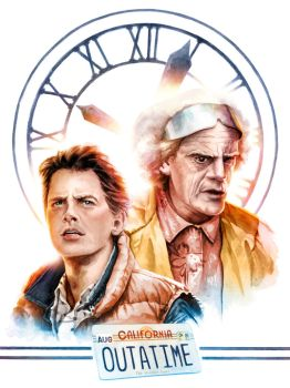 Back To The Future by Weidel