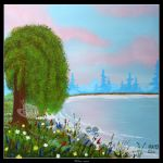 Spring Comes Ashore by Clu-art