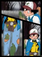 Ash into TMNT page 2 by TheDarkShadow1990