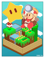 Super Toad 64 by Combotron-Robot