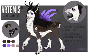 Artemis Reference Sheet by MagnusGear