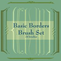 Basic Borders Brush Set 1 by jensequel