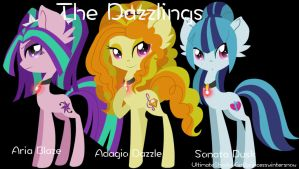 The Dazzlings by UltimateShadowGirl