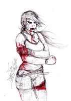 Tomb raider reborn: hurt by Daurel91