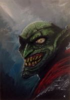 Goblin smile :D by shiprock