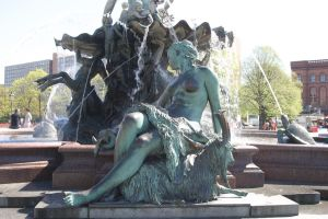 Neptune fountain 4 by almudena-stock