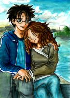 Harry and Hermione CIL Contest by Yamatoking