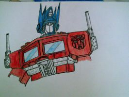 Optimus G1 by SALVAGEPRIME8686