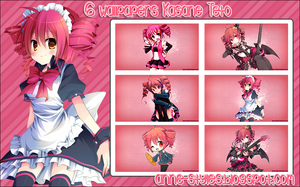 Pack Wallpapers Kasane Teto by AnneChan34