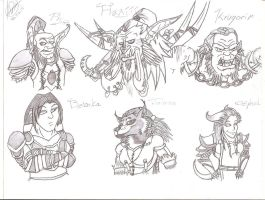 WoW OCs by Lyriith
