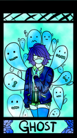 GHOST stained glass by UmbraticForest