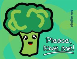 Broccoli need love too. by ObnitoWU