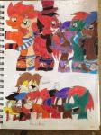 Reactions to the Pretty Ponies by PRJC1116
