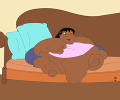 Obese Lilo by Gnight