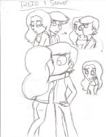Reid and Seaver Sketches by shadowcrazy911