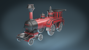 19th Century Train by Piplington