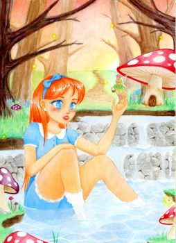 Pool of the Forest Fairy by Pumpkin0313