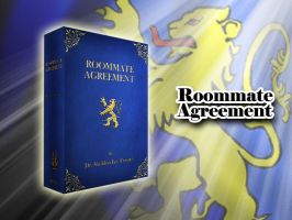 Roommate Agreement hardcover 3D by Thothhotep
