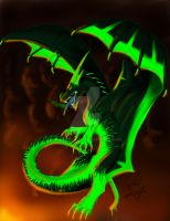 Toxic Flames by MoralChaos