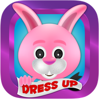 Bunny Dress Up Game Icon by Peaksel