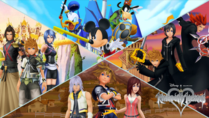 Kingdom Hearts Heroes by The4thSnake